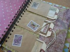 Journal, Scrapbook, SMASH book ~ Tags 4 ?s, Advice