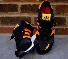 deaf2d3a300 adidas Originals ZX 700 - Black - Orange - Yellow