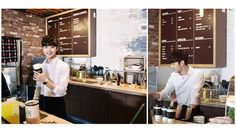 Young actor Kim Min Jae has transformed into a barista for the upcoming MBC drama 'My Little Baby'! Han Ye Seul, Mbc Drama, Young Actors, My Little Baby, Kim Min, Barista, Baristas