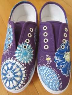 23 Best Painted shoes images | Painted shoes, Shoes, Diy shoes