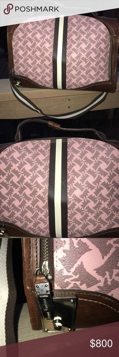 Juicy Couture (Rare) Scotty Dog Print Dog Carrier As shown this is in overall good condition some wear, but no odors. Juicy Couture Bags Shoulder Bags