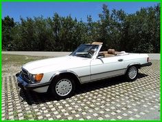 cool 1987 Mercedes-Benz 500-Series 2 Dr Convertible - For Sale