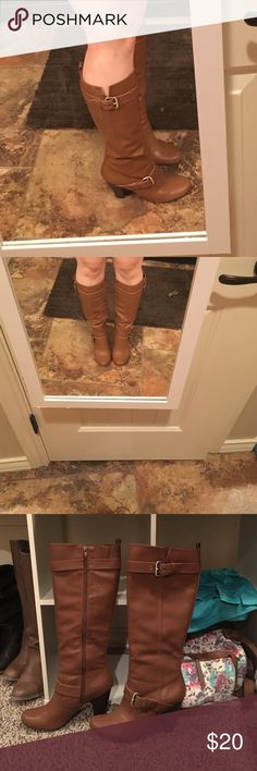 Brown heeled boots Brown heeled boots Shoes Heeled Boots