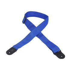 "Levy's 2"" Basic Poly Guitar Strap with Tri-Glide Adjustment - Royal"