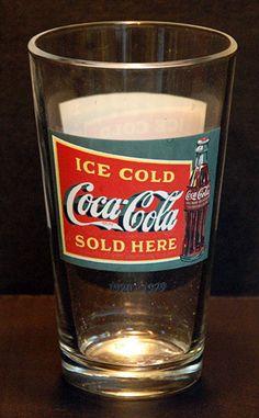 Coca-Cola Coke Soda Pop Beer Pint Glass 1
