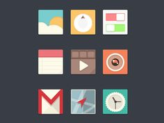 Dribbble - Icons by career