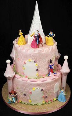 Sleeping Beauty Cakes   Pin Sleeping Beauty Castle Cake C0708 Panari Cakes On Pinterest ...