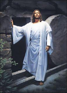 Jesus is risen.  He is risen indeed.  Hallelujah ... and happy Easter!