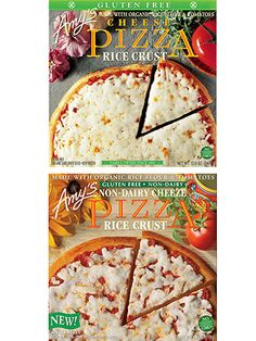 Best Brands for Kids With Food Allergies: Amy's Rice-Crust Pizzas (Gluten and Dairy Free) (via Parents.com)