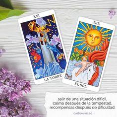 Wicca, Tarot Rider Waite, Tarot Significado, Tarot Reading, Tarot Cards, Spirituality, Sun, Tarot Card Art, Tarot Spreads