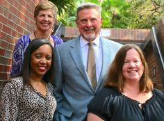 The COE's new CEEDAR Center, created last year with the largest federal grant ever awarded to the College, has partnered with Florida and four other states in rolling out its ambitious effort to transform how states prepare effective teachers and leaders serving students with disabilities. Pictured below is the CEEDAR Center leadership team (from left): Erica McCray, Mary Brownell, Paul Sindelar and Meg Kamman--all from UF's Special Education program.