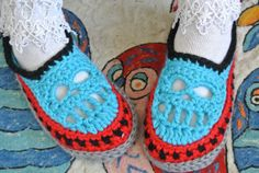 Skull Slippers by Unique2who on Etsy, $35.00