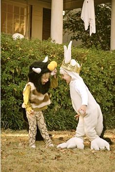 Where the Wild Things Are Halloween costumes. <3