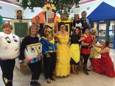 Beauty+and+the+Beast+Group+Costume
