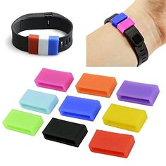 Eityilla(TM) Smart Bracelet Accessories Silicone Fasteners for Fitbit Charge / Fitbit Charge HR Wristband >>> Discover this special product, click the image : Fitness Technology