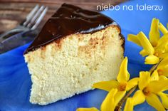 Polish Recipes, Polish Food, Cheesecakes, Vanilla Cake, Delicious Desserts, Sweet Tooth, Food And Drink, Gluten Free, Sweets