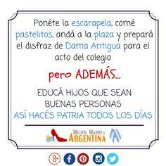 Que esté viva la PATRIA. #25DeMayo en #Argentina #NotAnotherMummyBlog
