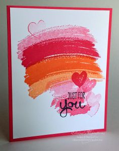 Stampin' Up! Work of Art Just for You Card Elaine's Creations