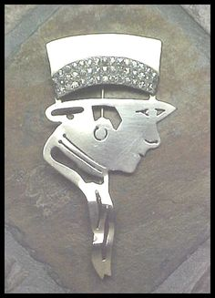 Vintage Art Deco Hat Pin