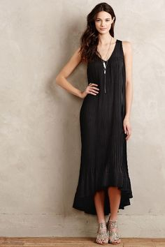 Onyx Maxi Dress - anthropologie.com