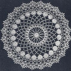 free irish crochet doily patterns - Google Search