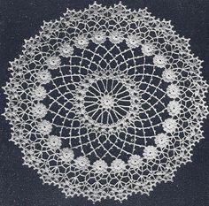 free irish crochet doily patterns - Google Search