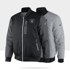 2ddef5007 Nike Defender (NFL Raiders) Men s Reversible Jacket for the husband...  Steelers
