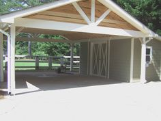 Metal Carport Attached To House Building Attached Carport House Plans With Attached Carport Best Of Building A Carport Out Wood Metal Building A Carport, Diy Carport, Carport Plans, Building A House, Attached Carport Ideas, Barn Apartment Plans, Metal Carports, Garage Design, Metal Buildings