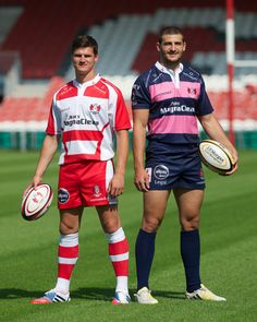 Gloucester Rugby's new Home and Away kits #WearWithPride ADEY Proud Official Sponsors