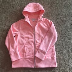 Peachy Pink zip up hoodie - Kenneth Cole Sz L Peachy pink super soft fleece zip up hoodie. Kenneth Cole - Unlisted. Excellent Condition. Size large. Unlisted Tops Sweatshirts & Hoodies