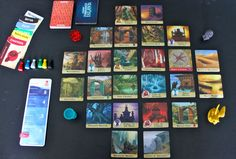 Forbidden Island, a cooperative game for 2 to 4 players, you all win or lose together. (Cephus, 2015)