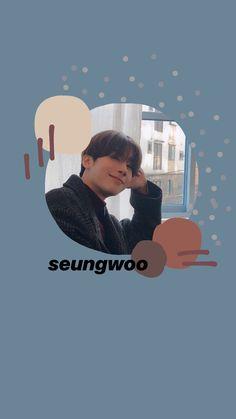 victon / produce x 101 seungwoo lockscreen Lock Screen Wallpaper, Photo Wallpaper, Instagram Story Ideas, Ig Story, Cute Illustration, Abstract Pattern, Aesthetic Wallpapers, Super Cute, Fan Art