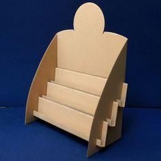 Pr�sentoir pliable en carton Pompidou Plus