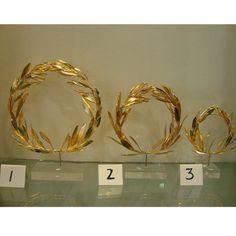 Greek olympic olive crown