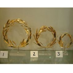 Greek olympic olive crown