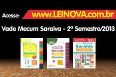 [Pré-Venda]  Vade Mecum Saraiva - 2º Semestre/2013  Acesse e Confira: http://www.leinova.com.br/index.php?route=product/search_name=saraiva_autor=1