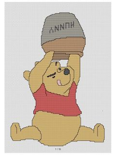 free cross stitch patterns and links: disney