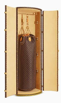 Karl Lagerfeld Designs the Most Expensive Punching Bag Ever for Louis Vuitton from #InStyle