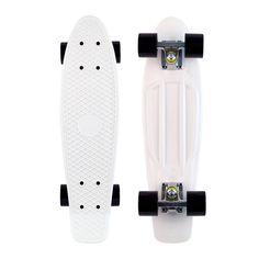White and black Penny Board.