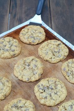 Best Oatmeal #‎ChocolateChip Cookies, check out the recipe…