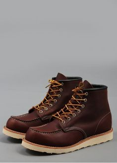Red Wing Six Inch Boot 8138 Brown