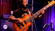 """Thundercat performing """"Them Changes"""" Live on KCRW"""