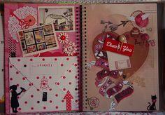 Smash Book page by Elektrapeke Mónika, via Flickr