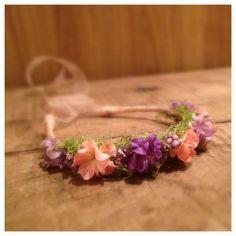 Newborn Halo / Baby Halo / Floral Crown / Tie by PetiteBoutiqueNJ Diy Flower Crown, Floral Crown, Photography Props, Newborn Photography, Newborn Headbands, Newborn Photo Props, Tie Backs, Newborns, Baby Pictures