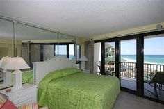 Living Area with Amazing View! Beachside Two 4268 studio with kitchen! #beachfront #rental #sandestin #myvacationhaven