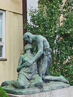 """Au revoir"", sculpture art nouveau villa Ensi (Helsinki) | Flickr - Photo Sharing!"