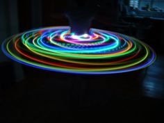 LED Hula Hoop  Rechargeable by schablein on Etsy