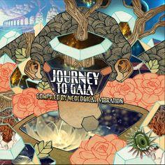 "Flying Woofer Recs new compilation,  ""Journey to Gaia"" , artwork by Pierre Meneaud ! COMING SOOON !  TRACKLIST  1. AVANT GARDE vs AUDIO CONTROL - Rise 2. AMINARU - The Rainbow God 3. ETO MOE - Rack Rack 4. ORGANIC DISTORTION - Power Nap  5. NEOLOGICAL VIBRATION - Smurfs on Surf  6. STIGMOULER - Tirako 7. LOGMAN N PSTUMP - The Trip train 8. XAMANIK - Psychedelic Tribe 9. JETLUX - New Orbits (Konflux edit) 10. JAM DAY - Funky Armydillo"
