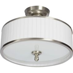 Three Posts Harwinton 3 Light Semi Flush Mount & Reviews | Wayfair