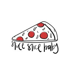Pizza puns // illustration // lettering